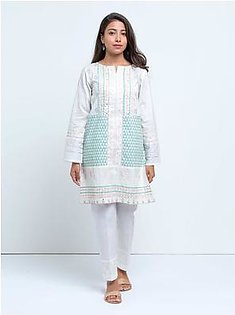 BeechTree Printed ShirtBTS19-CH-354-White