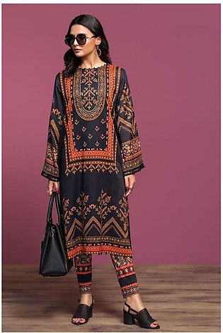 Nishat Linen Spring Summer 20 42001001-Digital Printed Lawn Cambric 2PC