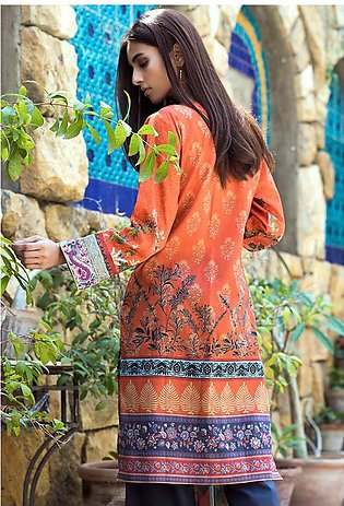 Adamjee Lawn Embroidered Collection 19 Embc-08