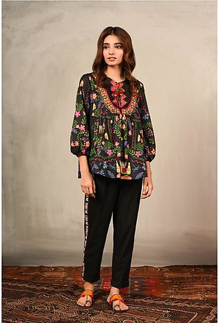 Ethnic by Outfitters Fusion Top WTC391007-10211643-AS-030