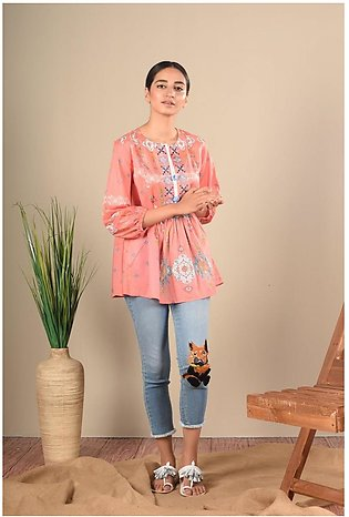 Ethnic by Outfitters Fusion Top WTC391003-10212576-AS-141