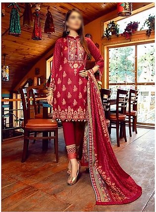 AL ZOHAIB Anum Lawn Collection Monsoon Lawn Collection MLC V-03 D-6B