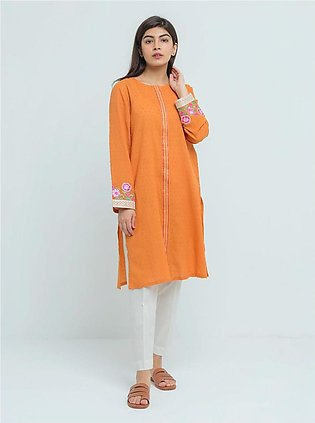 BeehTree Summer Pret Embroidered Shirt BTS20-CH-937-Orange