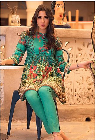 Adamjee Lawn printed Lawn Collection 19 pl-17