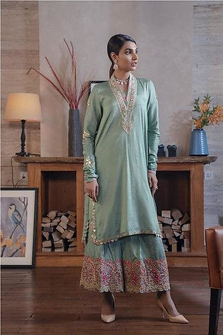 Ethnic by Outfitters Boutique Suits Shirt + Shalwar WTB491876-10232530-L-23
