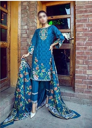 AL ZOHAIB Anum Lawn Collection Monsoon Lawn Collection MLC V-03 D-7C