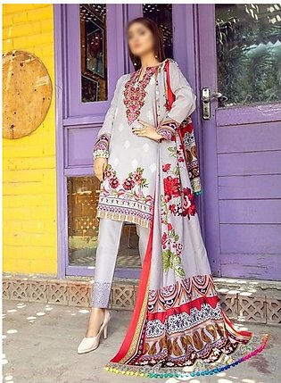 AL ZOHAIB Anum Lawn Collection Monsoon Lawn Collection MLC V-03 D-2A