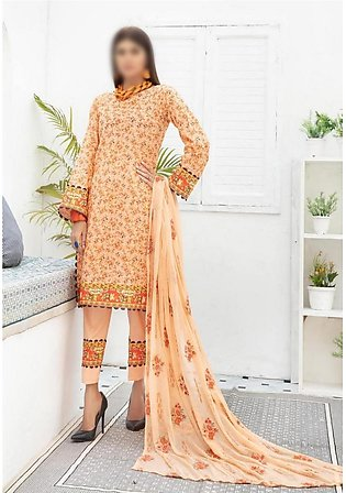 NUR Unstitched Classic Lawn Collection D-NL-102