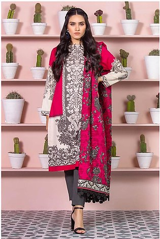 Alkaram Studio SS20 Collection 2 Piece Printed Lawn Suit With Dooria Lawn Dup...