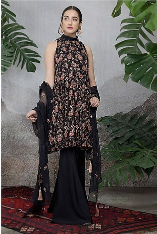 Kayseria Classic Summer Collection Dyed & Embroidered 2 Pcs E 104