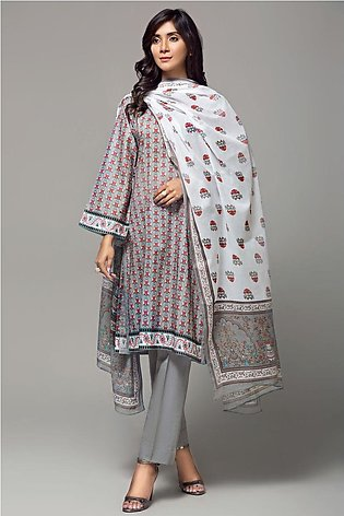 Gul Ahmed Summer Lawn20 3PC Unstitched Lawn Suit CL-648 A