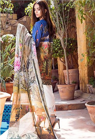 Adamjee Lawn Embroidered Collection 19 Embc-15