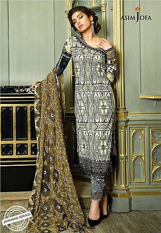 Asim Jofa Exclusive preview Lawn Ajl18-04a