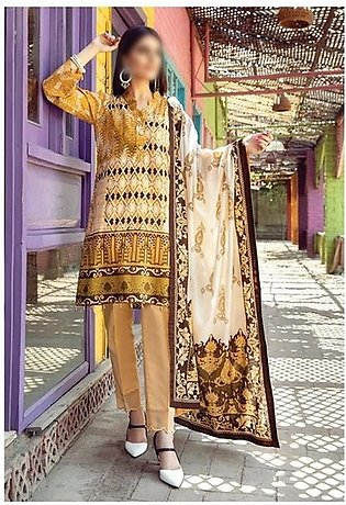 AL ZOHAIB Anum Lawn Collection Monsoon Lawn Collection MLC V-03 D-1B