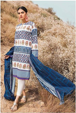 Gul Ahmed Summer Lawn20 2PC Unstitched Lawn Suit TL-250 A