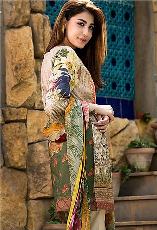 Adamjee Lawn Embroidered Collection 19 Embc-14
