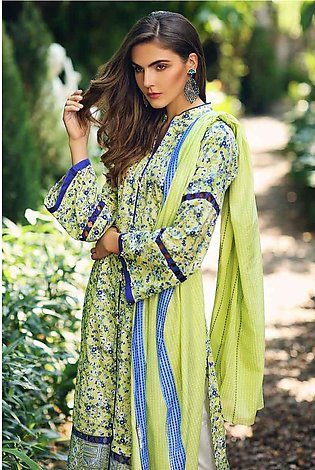 Gul Ahmed Summer Special Edition Green TL-195 A