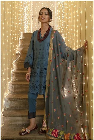Ethnic by Outfitters Mahrosh Boutique suit (Shirt + Dupatta) WTB391531-102160...