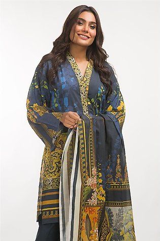 Gul Ahmed Lawn 3 PC Outfit IPS-19-83