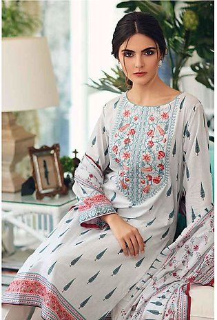 Gul Ahmed Summer Special Edition White TL-207 A