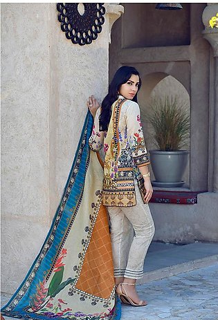 Adamjee Lawn printed Lawn Collection 19 pl-05
