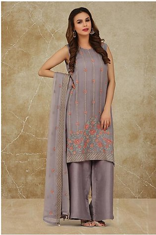 Kayseria Dyed, embroidered and embellished 2pc suitKPN-165