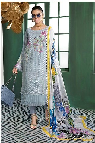 Gul Ahmed Summer Lawn20 3 PC Unstitched Swiss Voile Suit LSV-33