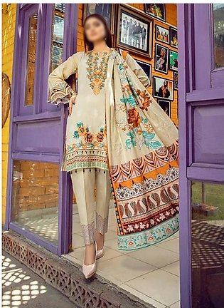 AL ZOHAIB Anum Lawn Collection Monsoon Lawn Collection MLC V-03 D-2C