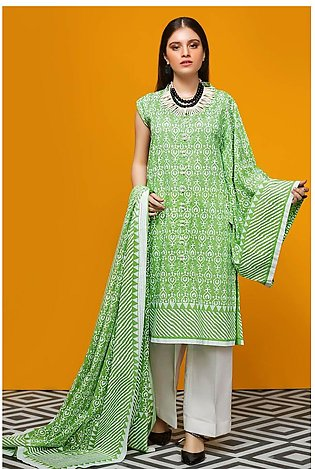 Gul Ahmed Summer Lawn20 2PC Unstitched Lawn Suit TL-244 A