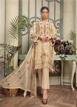 NUR Khoobsurat Signature Unstitched Embroidered Lawn Collection D-LS 396