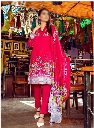 AL ZOHAIB Anum Lawn Collection Monsoon Lawn Collection MLC V-03 D-3C
