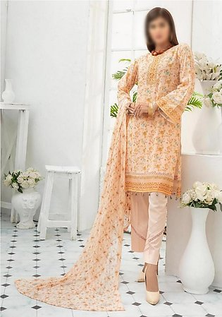NUR Unstitched Classic Lawn Collection D-NL-103