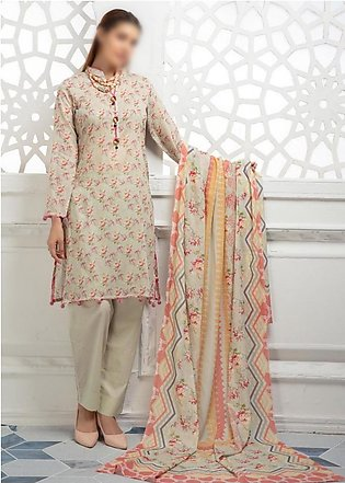 NUR- Classic Unstitched Lawn Collection D-C-11