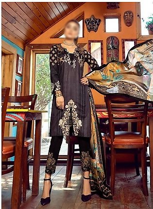 AL ZOHAIB Anum Lawn Collection Monsoon Lawn Collection MLC V-03 D-9B
