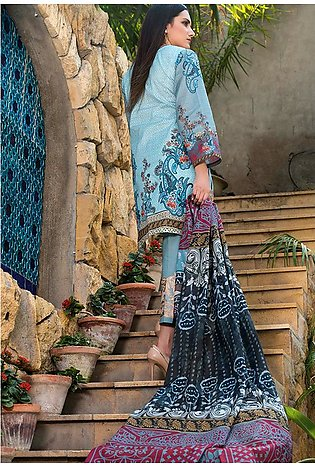 Adamjee Lawn Embroidered Collection 19 Embc-04