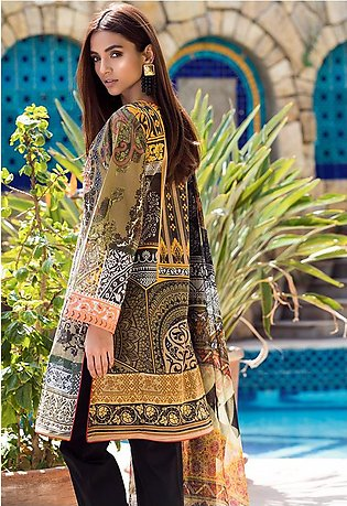 Adamjee Lawn Embroidered Collection 19 Embc-05
