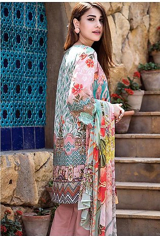 Adamjee Lawn Embroidered Collection 19 Embc-06