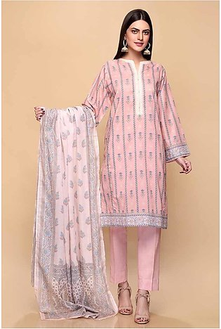 Gul Ahmed Summer Lawn20 3PC Unstitched Lawn Suit CL-716 A