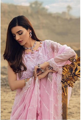 Kayseria Classic Summer Collection Dyed,embr & Embellished 3 Pcs Suit E 123