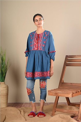Ethnic by Outfitters Fusion Kurti WTB391461-10212713-AS-014