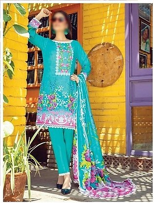AL ZOHAIB Anum Lawn Collection Monsoon Lawn Collection MLC V-03 D-3A