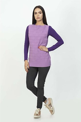 Bonanza Luxury Sweater Purple-Sando-Pull Over 19S-107-61-PURPLE