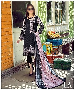 AL ZOHAIB Anum Lawn Collection Monsoon Lawn Collection MLC V-03 D-4A