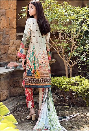 Adamjee Lawn Embroidered Collection 19 Embc-03