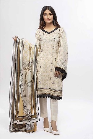 Gul Ahmed Summer Special Edition Off White CL-658 A