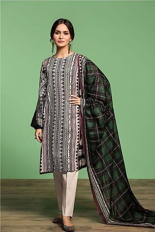 Nishat Linen Spring Summer 20 42001050-Printed Lawn, Cambric Voil 3PC