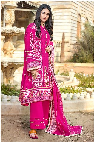 Gul Ahmed Summer Lawn20 3PC Unstitched Lawn Suit ARZ-05