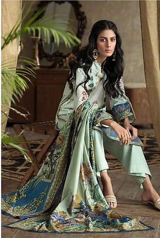 Gul Ahmed Summer Lawn20 3PC Unstitched Lawn Suit CL-817