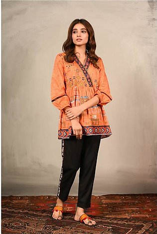 Ethnic by Outfitters Fusion Top WTC391005-10209640-AS-028