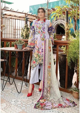 RIAZ ARTS Aafreen Unstiched Embroidered Lawn Collection D-AE 59